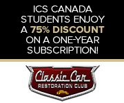 Classic Car Restoration Club student discount