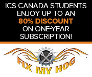 "Fix My Hog"" Student Discount"