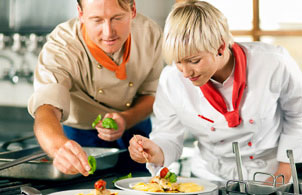 Online catering training
